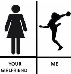 so true me my sister and one of my friends are playing handball.....we know the struggle