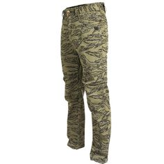 TD Carlos Ray Tactical Pants 2.1 Tiger Stripe Mobile Pocket, Tactical Pants, Shank Button, Chuck Norris, Tiger Stripes, Good Customer Service, Cotton Twill Fabric, Off Duty, Kicks
