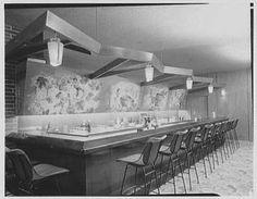 Nevele Hotel, Ellenville, New York - Murals in bar