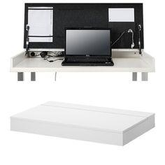 Hidden desk - for the clean look