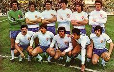 Real Zaragoza 1978/79.  Nieves, Lasa, Camus, 'Pichi' Alonso, Oñaederra, Antić. India, Víctor, Güerri, Amorrortu, Juanjo.