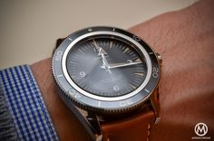 Omega Seamaster 300 Master Co-Axial Chronometer Leather strap - 1
