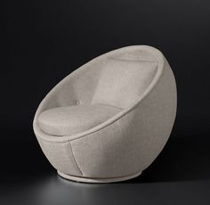 Small Swivel Chairs For Living Room Code: 2985306449 Black Dining Room Chairs, Metal Chairs, Cool Chairs, Small Chairs, Patio Chair Cushions, Diy Chair, Sofa Chair, Round Swivel Chair, Blue Velvet Chairs