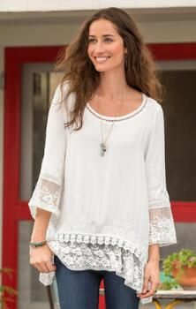 BETROTHED EMBROIDERED TUNIC