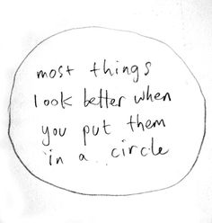 Management consulting in a nutshell. Bonus points if you put it in a circle on a PowerPoint slide.