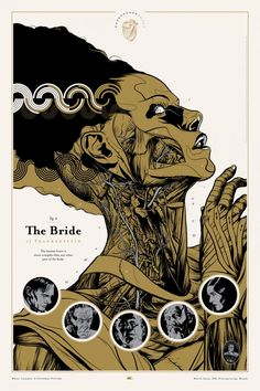 Bride of Frankenstein (18 brilliant retro sci-fi movie posters | Blastr)