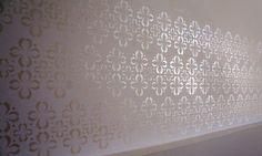 Stencil na parede