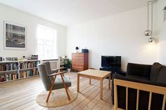Airbnb: Renovated top apt in hip Vesterbro a Copenaghen