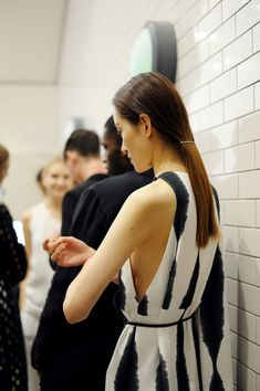 An exclusive backstage look at Whistles spring/summer 2015.