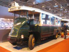 Old Paris bus