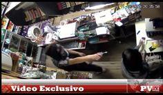 Impactante video del robo al quiosco El Palomo