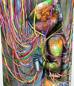 Expo seth@galeriegeraldinezberro#sethglobepainter #seth #streetart #urbanart #art #artgallery #paris #paris8@serhglobepainter