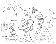 #artbook 18 Sombreros mexicanos