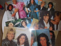 MODERN TALKING LOT 9  POSTERS ,  POSTERS  FROM GREEK COMIC MAGAZINE