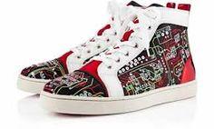 I love it!  http://www.stylesole.com/wp-content/uploads/2012/08/christian-louboutin-louis-mens-geek-high-top-sneakers-1-630x381.jpg