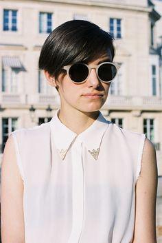 Model: Renee Kitchen for Vanessa Jackman: Paris Fashion Week SS 2012...Anne-Catherine