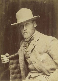 Tom Roberts, Australian artist, ca. 1895 / photographer Talma Studio