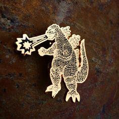 Godzilla V3! LE200 - bbllowwn x NOIL pin