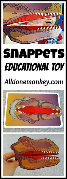 Review of Snappets educational toys - Alldonemonkey.com