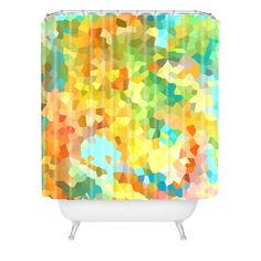 Rosie Brown Splattered Paint Shower Curtain | DENY Designs Home Accessories
