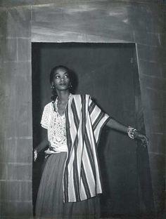Actress Ruth de Souza in the play Aruanda, 1950.
