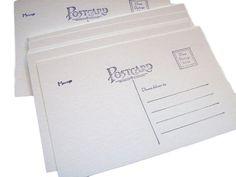 Postcard blanks set of 50 4x6 soft white by PrairieDogPaperCo
