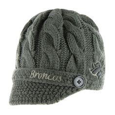 Denver Broncos Women's '47 Brand Skybox Soft Visor Knit Hat