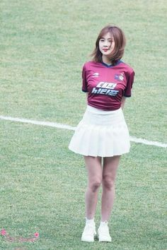 South Korean Girls, Korean Girl Groups, Oh Hayoung, Pink Panda, Love At First Sight, Korean Singer, Pretty Girls, Asian Girl, Skater Skirt