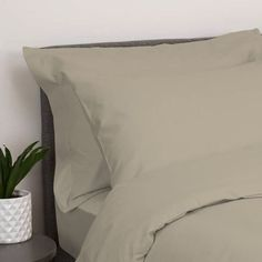Oxford Duvet Cover / Colour: Stone / Size: Single Colour Stone, Sleepover, Good Night Sleep, Just Go, New Product, Duvet Covers, Bedding, Oxford, Comfy