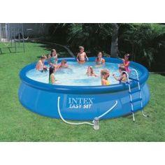 Intex oval frame pool komplett set 549 x 305 x 107 cm art for 7in1 set garten pool 457 x 91 cm