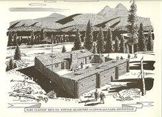 Fort Clatsop, where