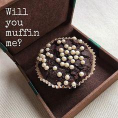 Will you..? Con una dedicación especial a @tatipetit y @aduar  Os deseamos  y que vuestro #amor siga tan dulce, equilibrado, saludable y lindo que nuestros #muffins