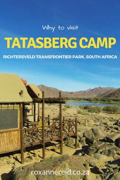 The Tatasberg wilderness camp in the /Ai/Ais-Richtersveld Transfrontier Park is a perfect place to drop out of the rat race and unmuddle your mind. Camping World, Go Camping, Wildlife Safari, Luxury Camping, Africa Travel, South Africa, Tourism, Travel Photography, National Parks