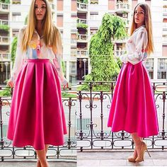 2015 летние длинные юбки женщин принцесса миди ну вечеринку платье Saias Femininas 12 купить на AliExpress