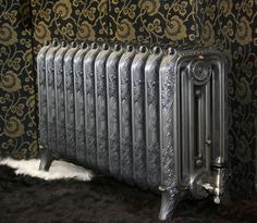 Highly unusual radiator sourced from the British library shown here with a polished finish. This radiator has been fully restored and is ready to go. Victorian Radiators, Old Radiators, Cast Iron Radiators, Originals Cast, British Library, Ceramic Art, Restoration, Old Things