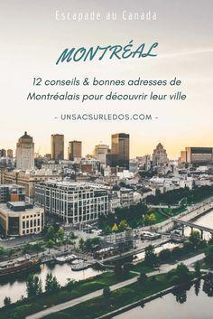 12 blogueurs montréalais (ou ayant vécu à Montréal) à nous partager leurs coups de cœur et leur regard sur leur ville ! Plein de bons conseils à garder en tête pour une prochaine visite de la ville. Au programme : des idées d'activités insolites, sportives et culturelles, des évènements et festivals à ne pas manquer, des bonnes adresses gourmandes, mais aussi pour se poser le temps d'un café ou se balader.