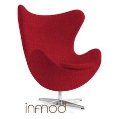 Custom Arne Jacobsen Egg Chair