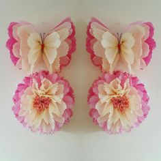 1 wall flower 1 butterfly girls birthday party by Ohsopretty37