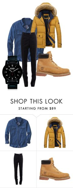 """Sin título #1"" by joaquin-cestona on Polyvore featuring TravelSmith, Thom Browne, Timberland, Nixon, men's fashion y menswear"
