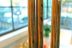 Online metals for drapery rods in unlaquered brass