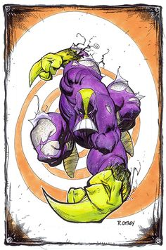 The Maxx by Ryan Ottley Comic Book Characters, Comic Character, Comic Books Art, Comic Art, Book Art, Character Drawing, Monster Pictures, The Maxx, Alternative Comics
