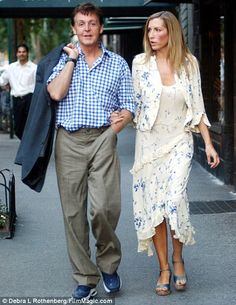 They met in May 1999.  Bitter end: Sir Paul McCartney and Heather Mills seemed in love, but their relationship disintegrated when her raunchy past was exposed.