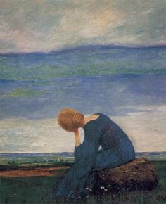 Longing, 1900, Heinrich Vogeler. Germany (1872 - 1942)