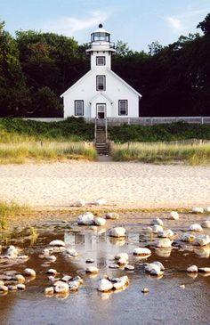 Old Mission Point Lighthouse - Traverse City, MI.