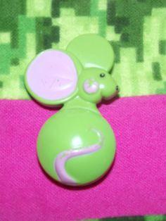 Vintage Avon Mouse Perfume Pin (c. 1971). $10.00, via Etsy.