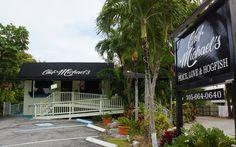 ISLAMORADA RESTAURANTS FL KEYS   TRY OUR HOGFISH!   CHEF MICHAEL'S Islamorada Florida, Florida Travel, Florida Keys, World Chef, Fl Keys, Beach Bars, Trip Planning, Travel Destinations, Key Largo