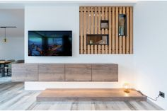 Flat Screen, Shelves, Elegant, Home Decor, Carpentry, Timber Wood, Homes, Blood Plasma, Classy