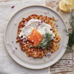 Rårakor i våffeljärn | Recept ICA.se Starters, Supreme, Food Porn, Brunch, Eggs, Dinner, Breakfast, Ethnic Recipes, Cassie