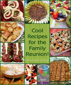 over 30 tasty crowd pleasing recipes and tips for successful reunion