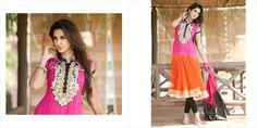 $113.50 Pink Short Sleeve Net Long Anarkali Salwar Kameez 21723